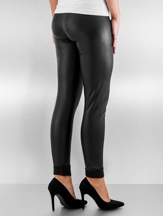 Pieces pcNew Shiny Fleece Leggings Black
