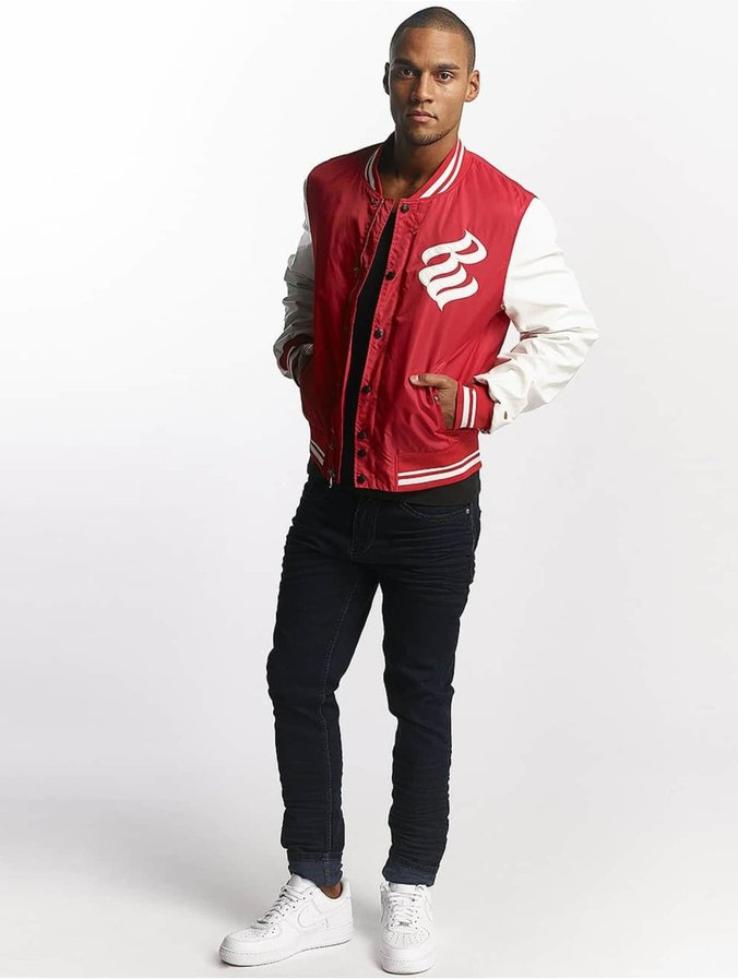Rocawear College Jacket Red