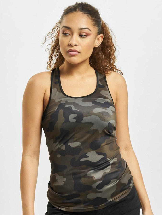 e94e99d011564 Urban Classics   Camo camouflage Femme Débardeur 399264