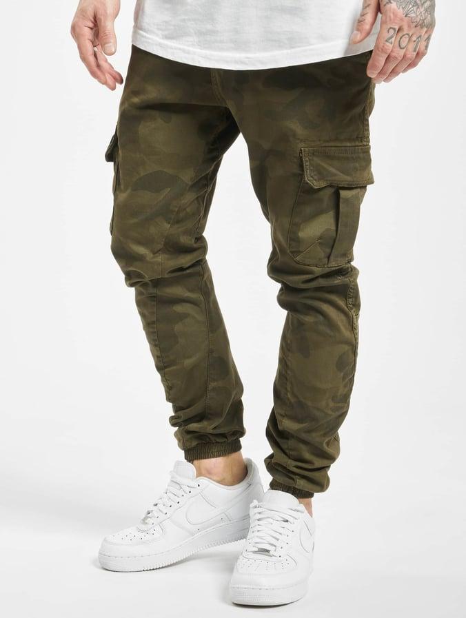 edc96bf44 Urban Classics Camo Cargo Jogging Pants Olive Camo