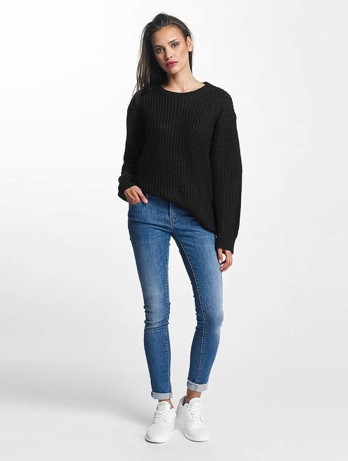 Urban Classics Basic Sweater Black