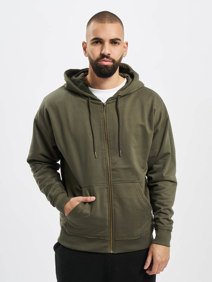 the best attitude 6eac9 68e92 Urban Classics Oversized Sweat Zip Hoody Olive