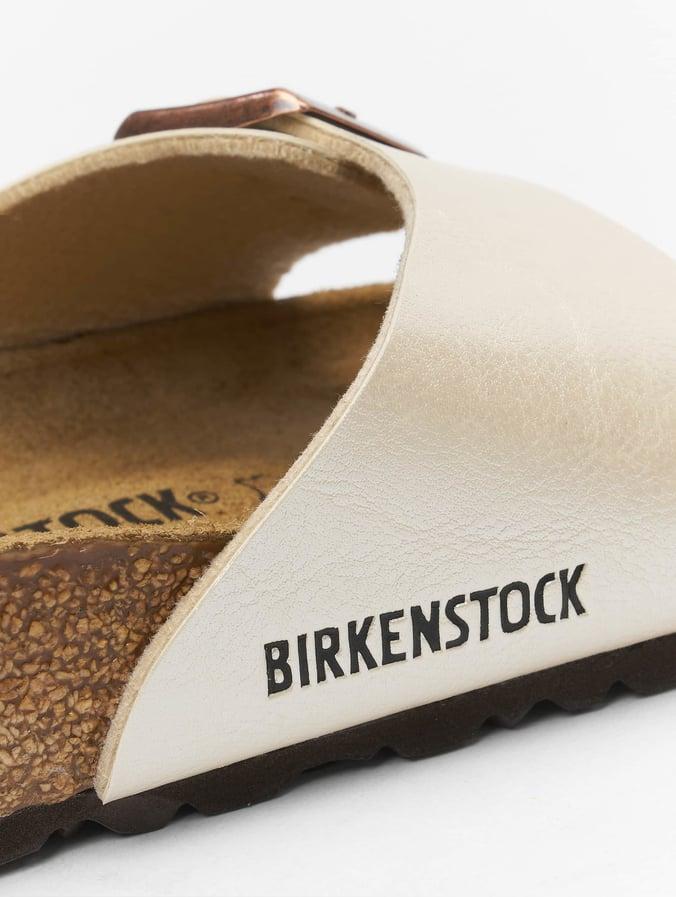 best sneakers a12ea 4285d Birkenstock Madrid BF Sandals Pearl White