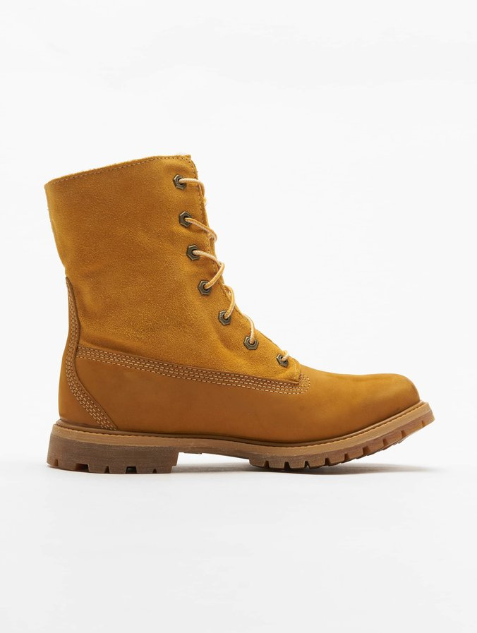 reputable site 29d70 164af Timberland Authentics Teddy Fleece Waterproof Boots Wheat