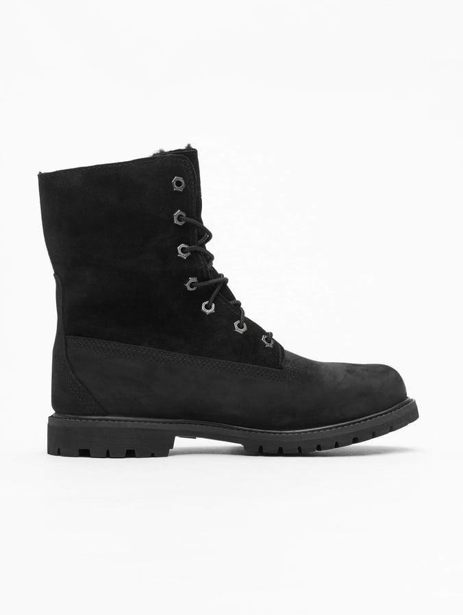 sélection premium acheter mieux élégant et gracieux Timberland Authentics Teddy Fleece Waterproof Boots Black