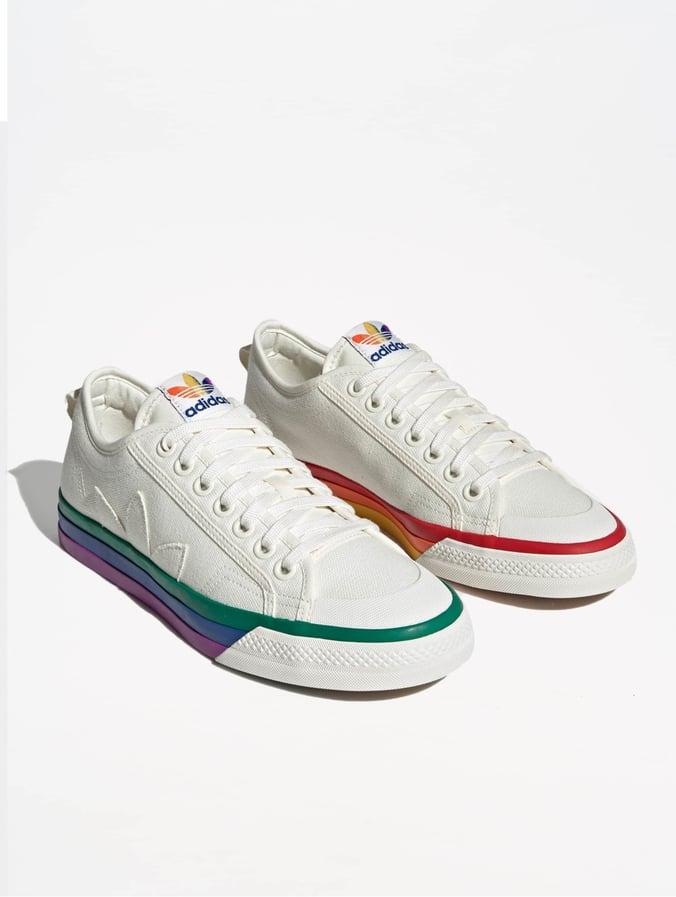 291d548bca42 adidas Originals | Nizza Pride blanc Baskets 684634