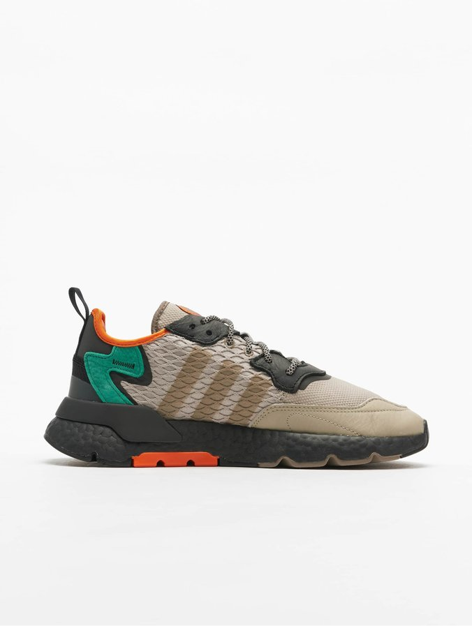 adidas nite jogger homme orange