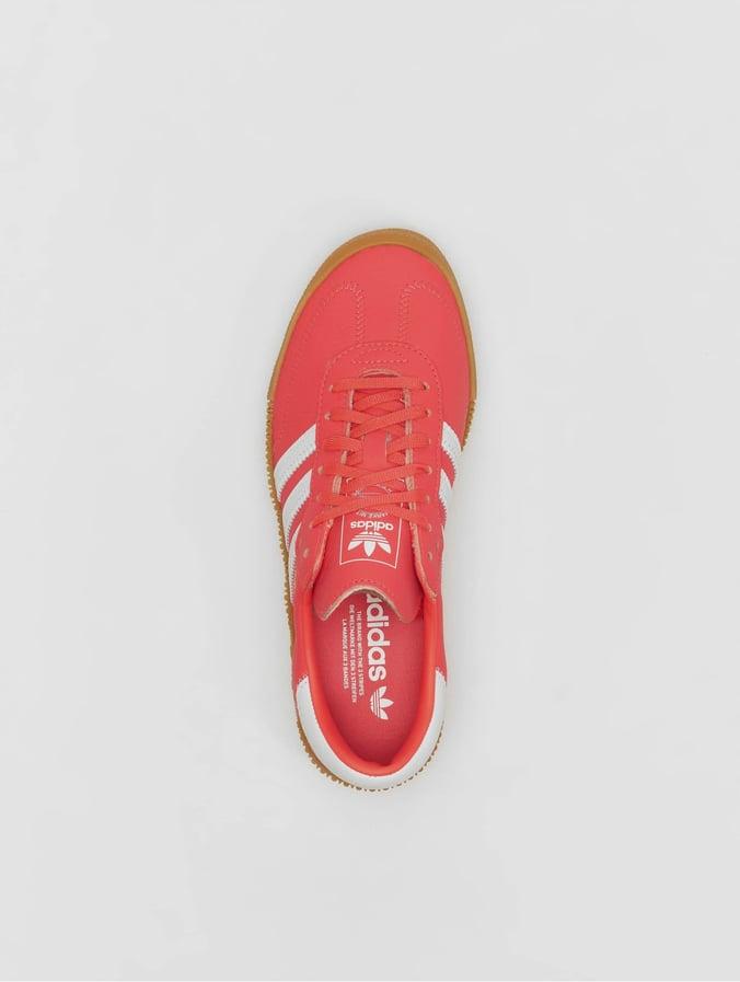 Adidas Originals Femme Samba Rose Chaussures Baskets Rouge