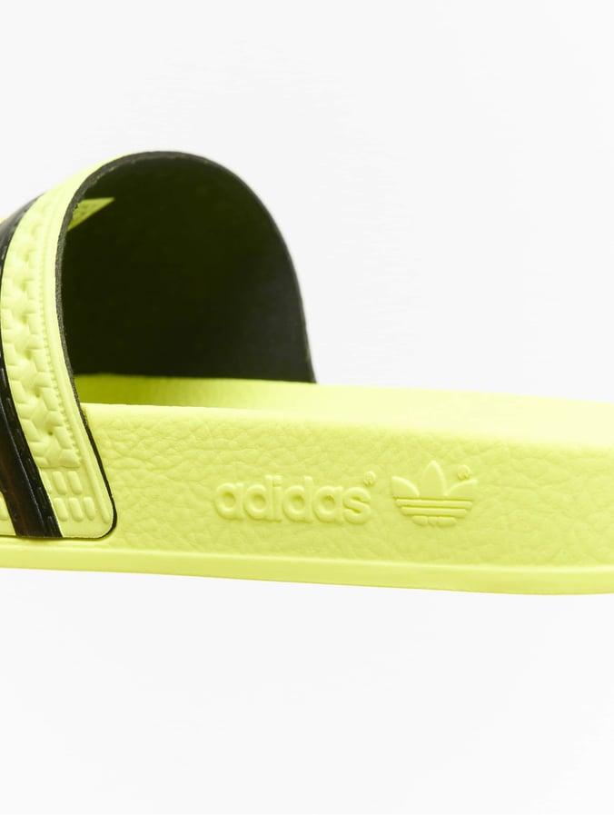 adidas originals Adilette Ice YellowIce YellowCore Black