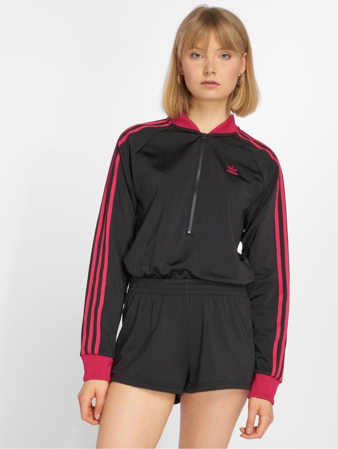 Style classique Royaume-Uni disponibilité différemment adidas originals LF Jumpsuit Black