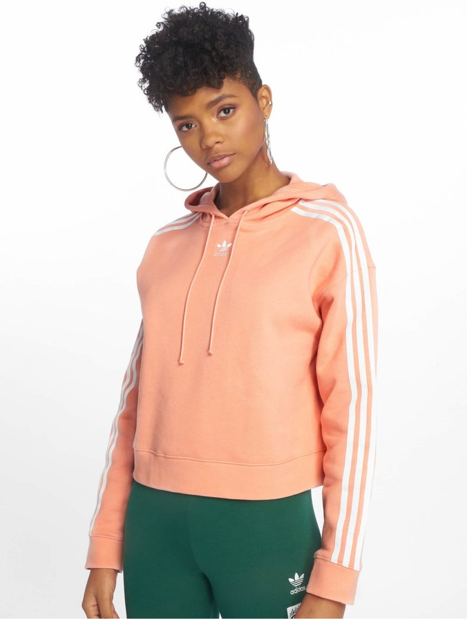 Adidas Originals Cropped Hoody Dust Pink