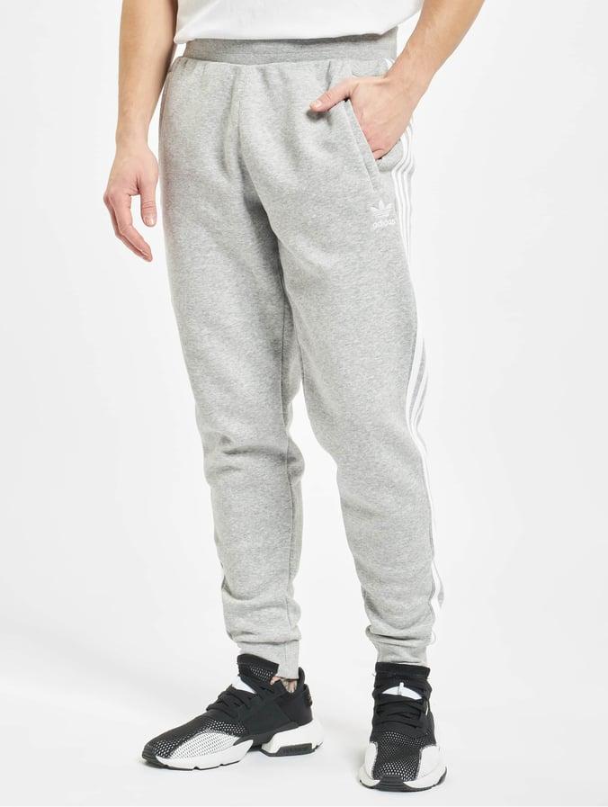 Adidas Originals 3 Stripes Sweat Pants Medium Grey Heather