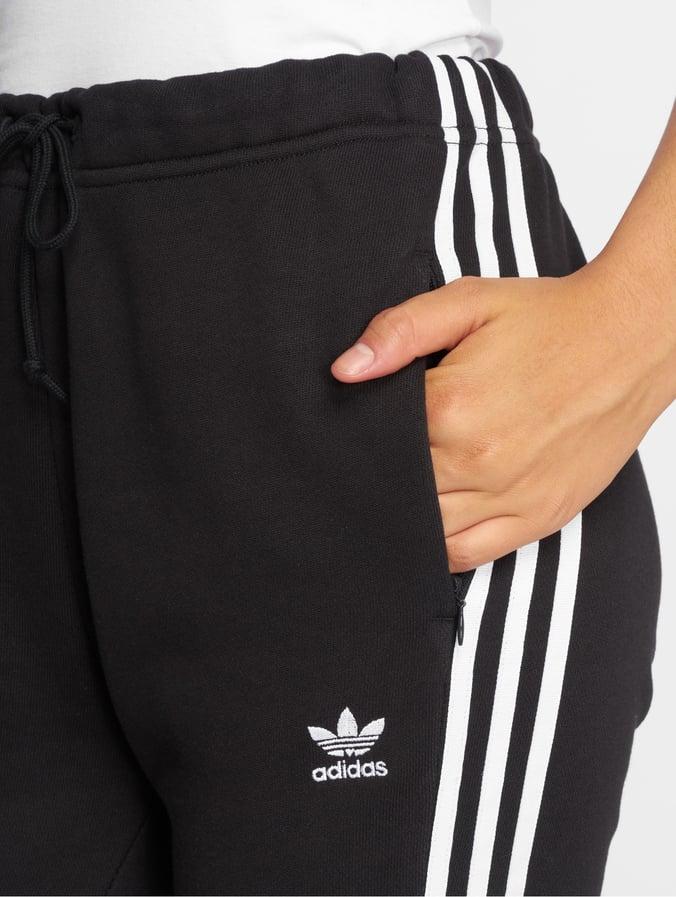 adidas westen, adidas Sweathose Damen schwarz Damen