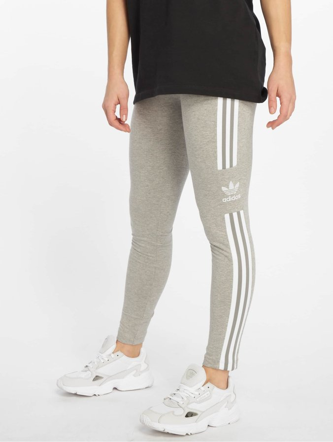 Adidas Originals Trefoil Leggings Medium Grey Heather