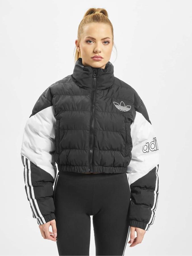 low cost adidas damen jacke schwarz b6b1a 41e76