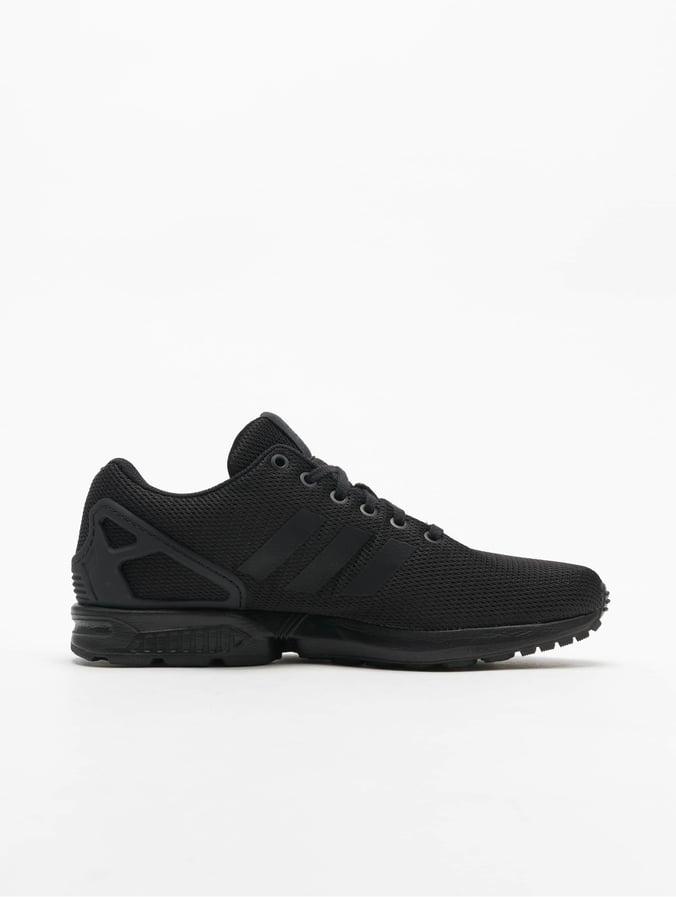 Adidas ZX Flux Triple Black Sneakers BlackBlackBlack