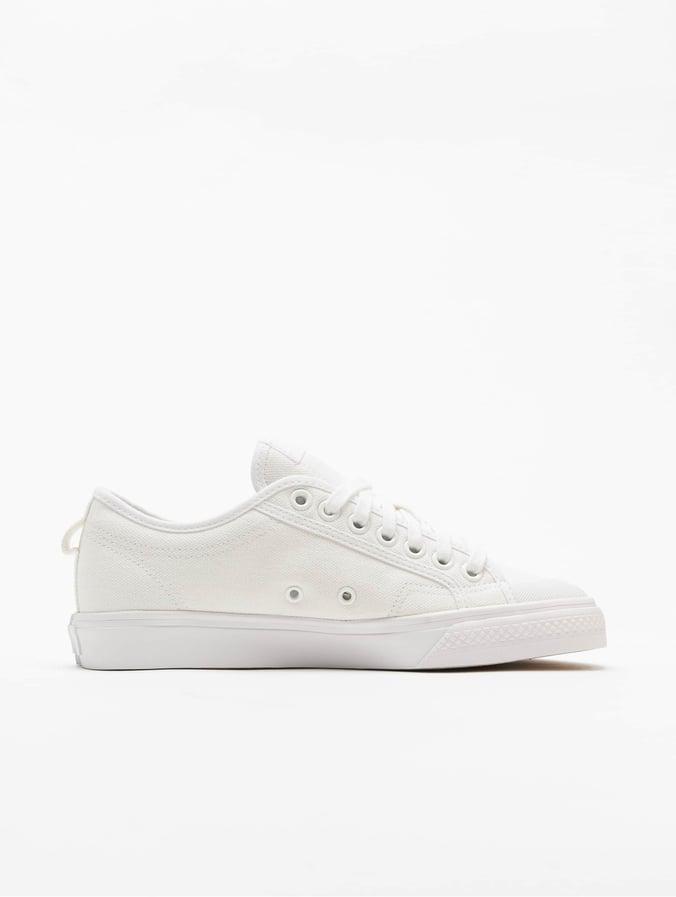 globo inventar Romper  adidas Originals Damen Sneaker Nizza Trefoil in weiß 722479