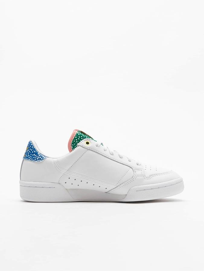 Adidas Originals Continental 80 Sneakers Ftwr WhiteGolden MetGlory Pink