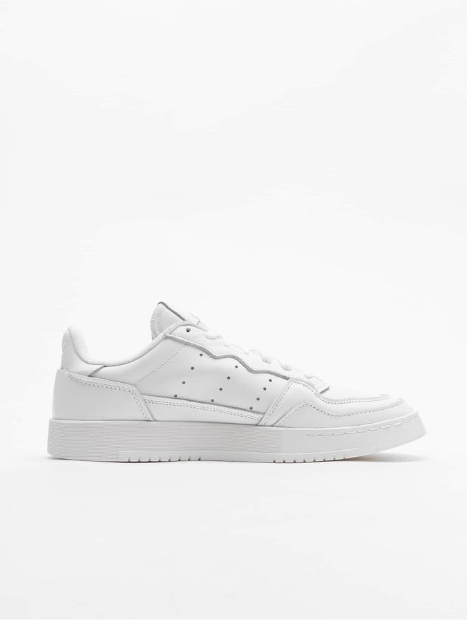 Adidas Originals Supercourt Sneakers White/White/Core Black