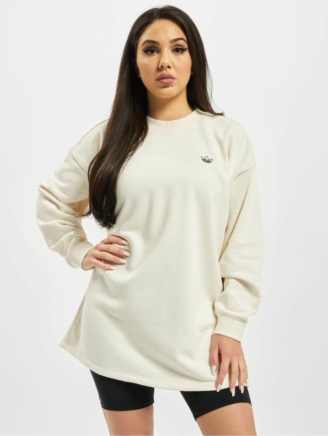 sweat adidas femme beige