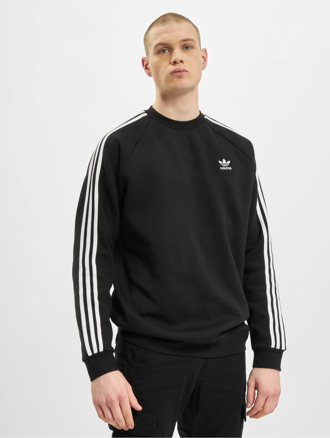 Adidas Originals 3-Stripes Sweatshirt Black
