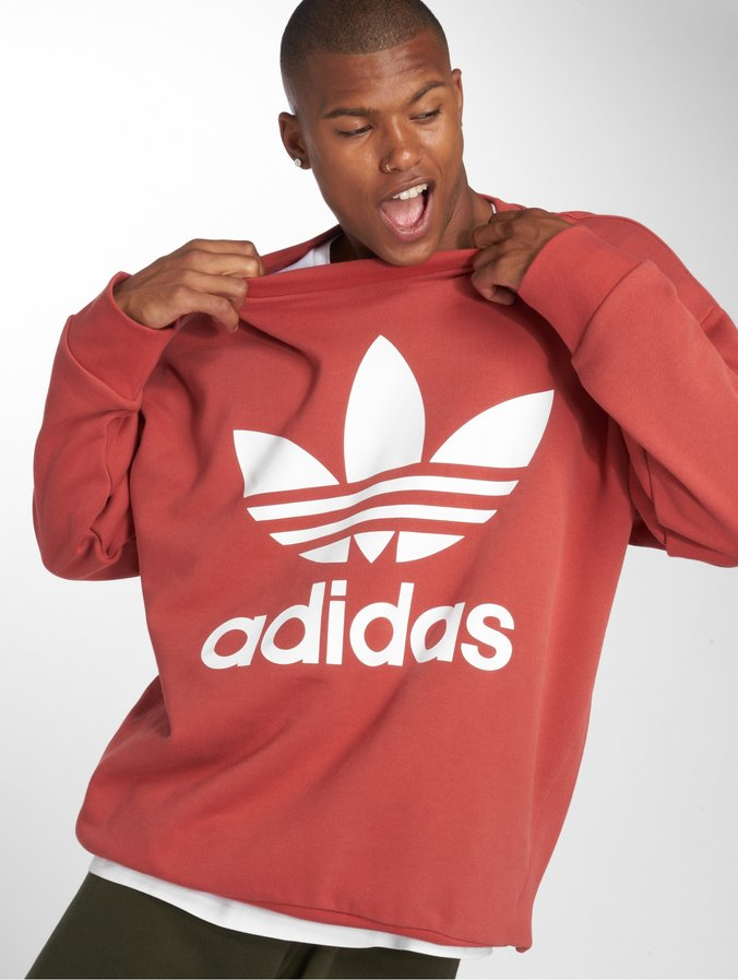 d85bb6d76d626 adidas originals | Tref Over Crew orange Homme Sweat & Pull 500040