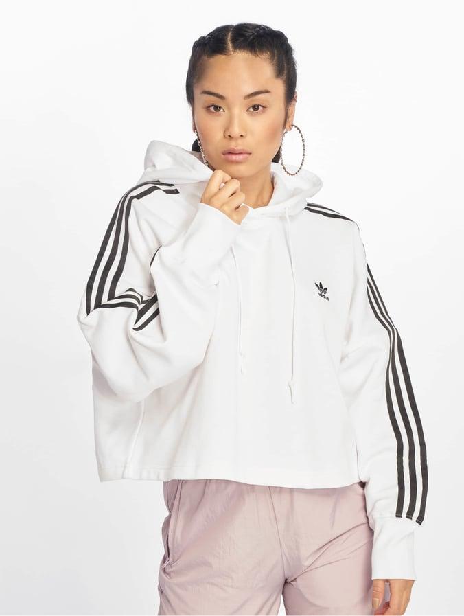 sweat blanc adidas femme