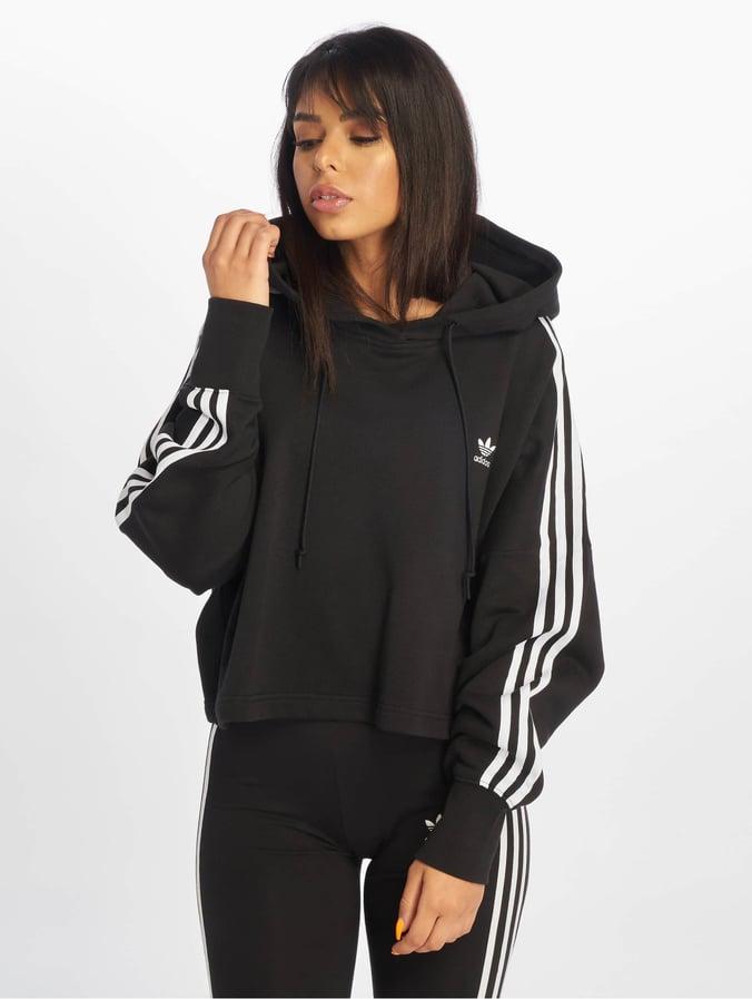 Adidas Originals Cropped Hoody Black