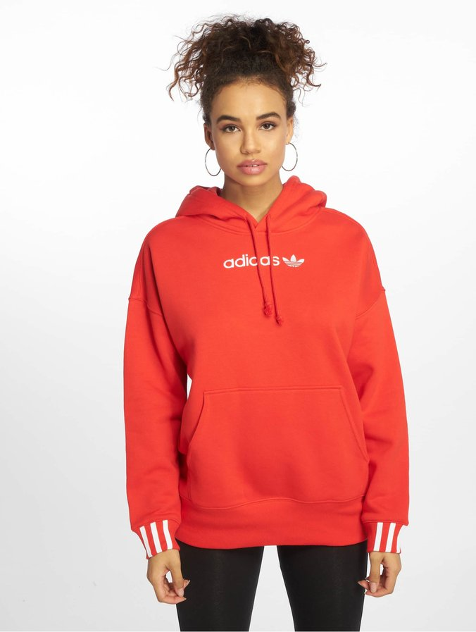 c488355b46 adidas Originals   Coeeze rouge Femme Sweat capuche 543454