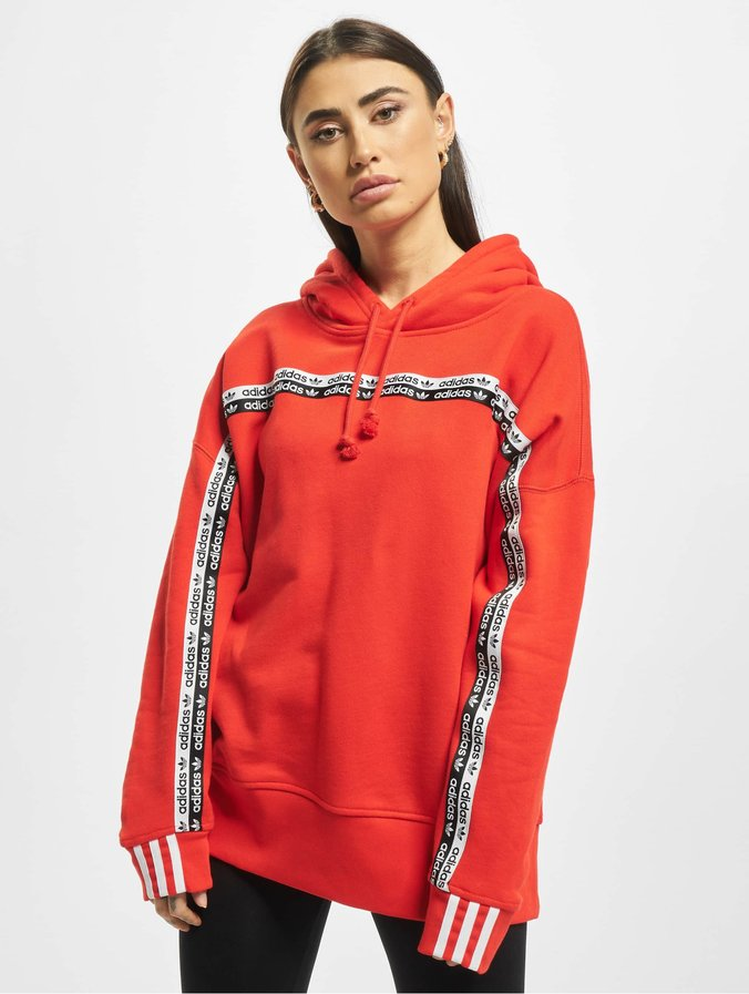 adidas Originals Cropped Hoody Trace Scarlet S18White