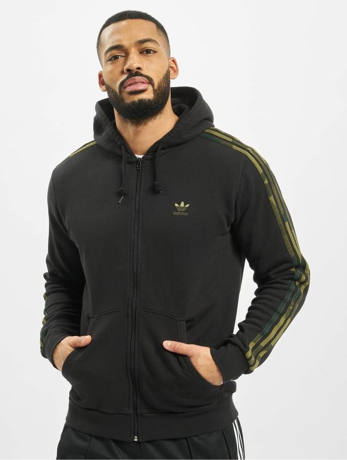 Adidas Camo Full Zip Hoody BlackMulticolor