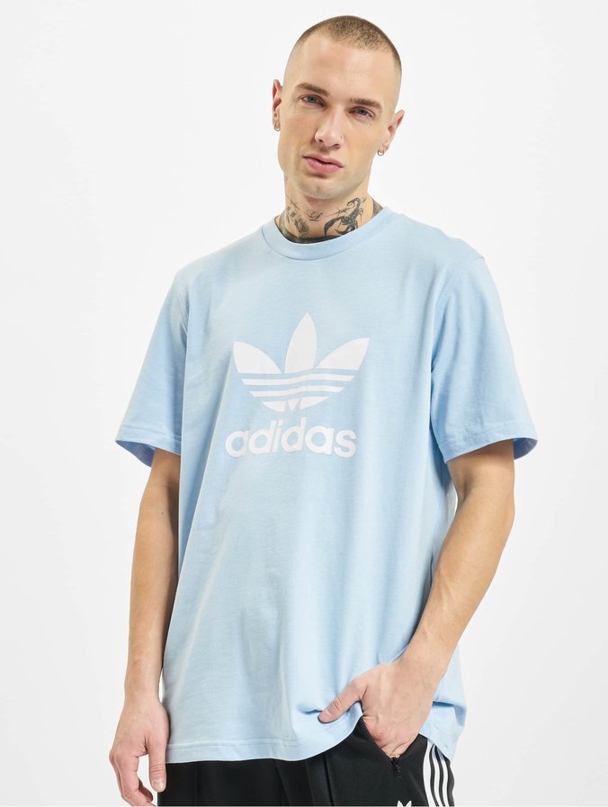 tee shirt homme adidas bleu