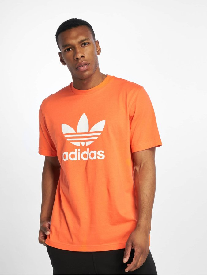adidas Originals Trefoil T Shirt True Orange