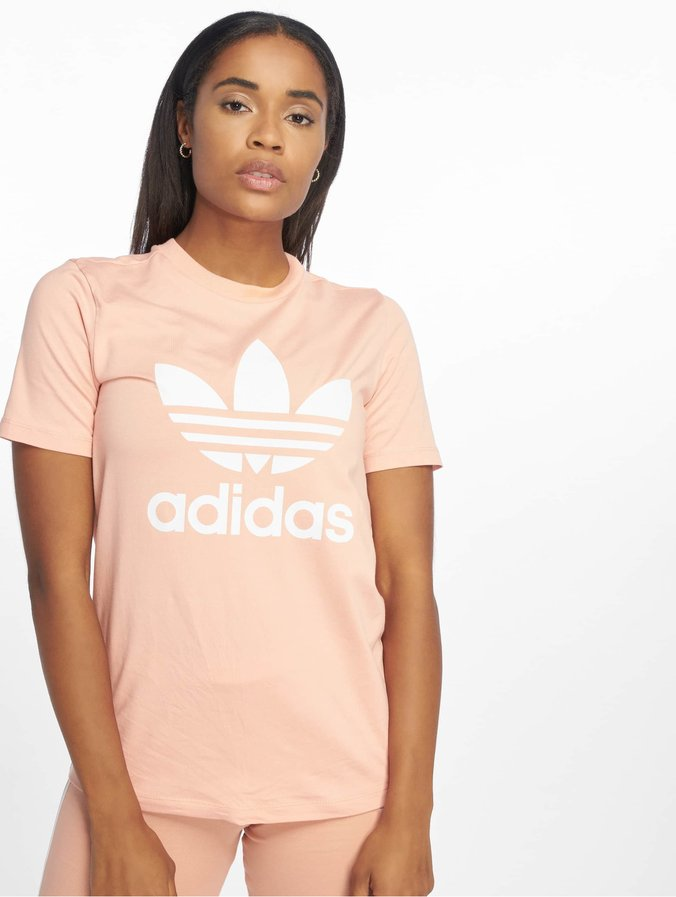 brand new the sale of shoes entire collection Adidas Originals Trefoil T-Shirt Dust Pink