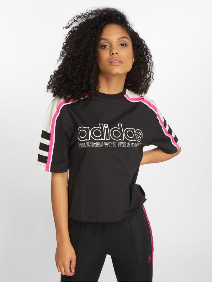 4a0437bd441e43 adidas originals Damen T-Shirt Og in schwarz 542792