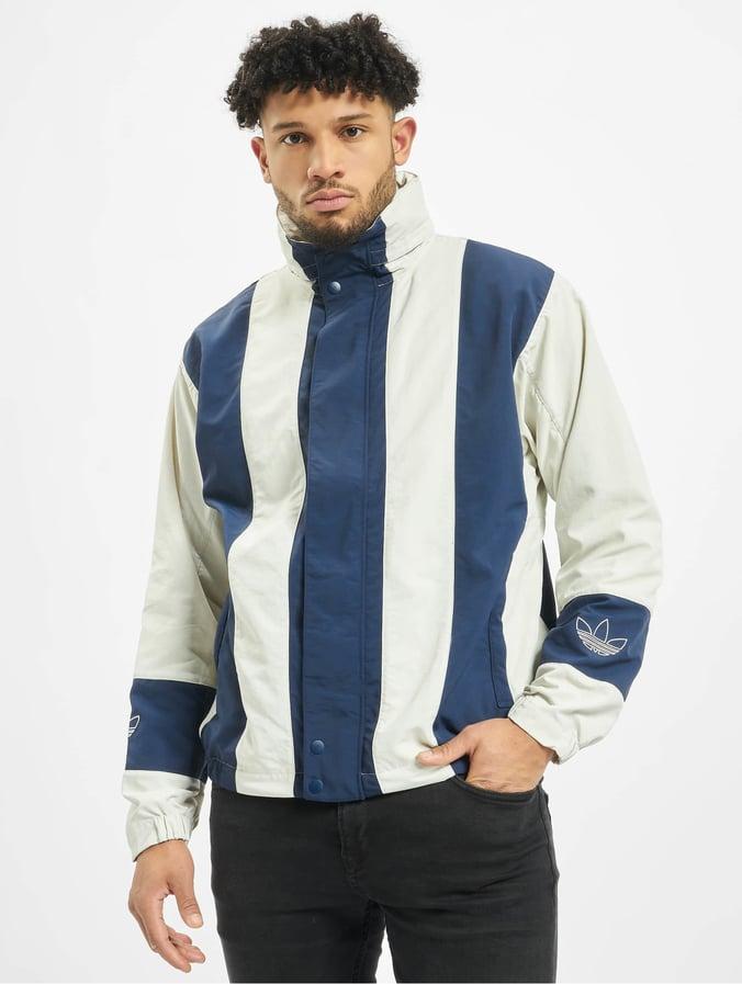 Adidas Originals Sailin Windbreaker Raw WhiteCollegiate Navy