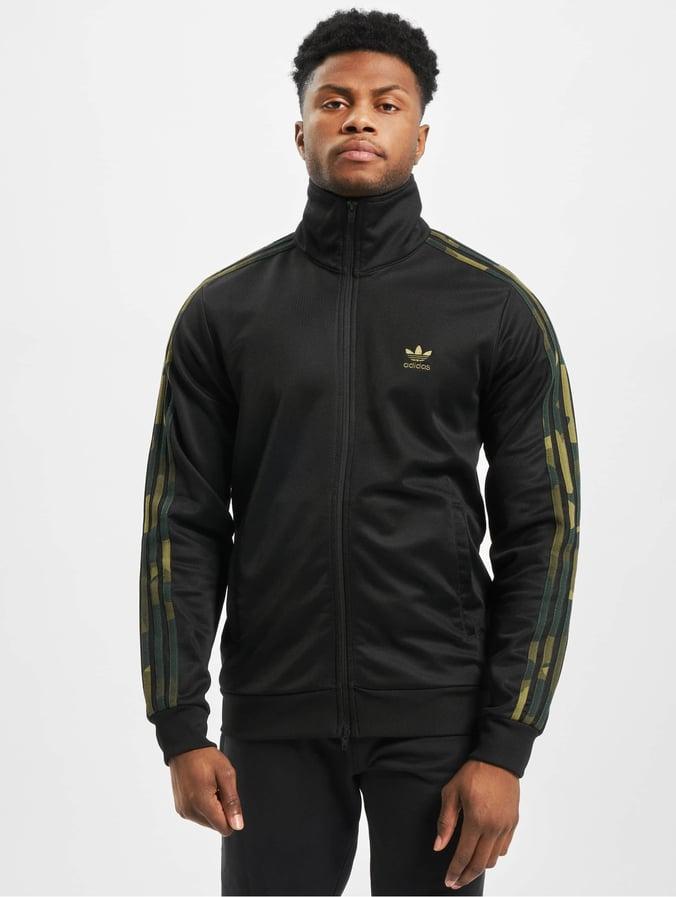 adidas Originals   Superstar noir Homme Veste mi saison