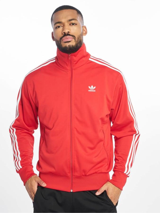 half price shop hot new products Adidas Originals Firebird Track Jacket Scarlet