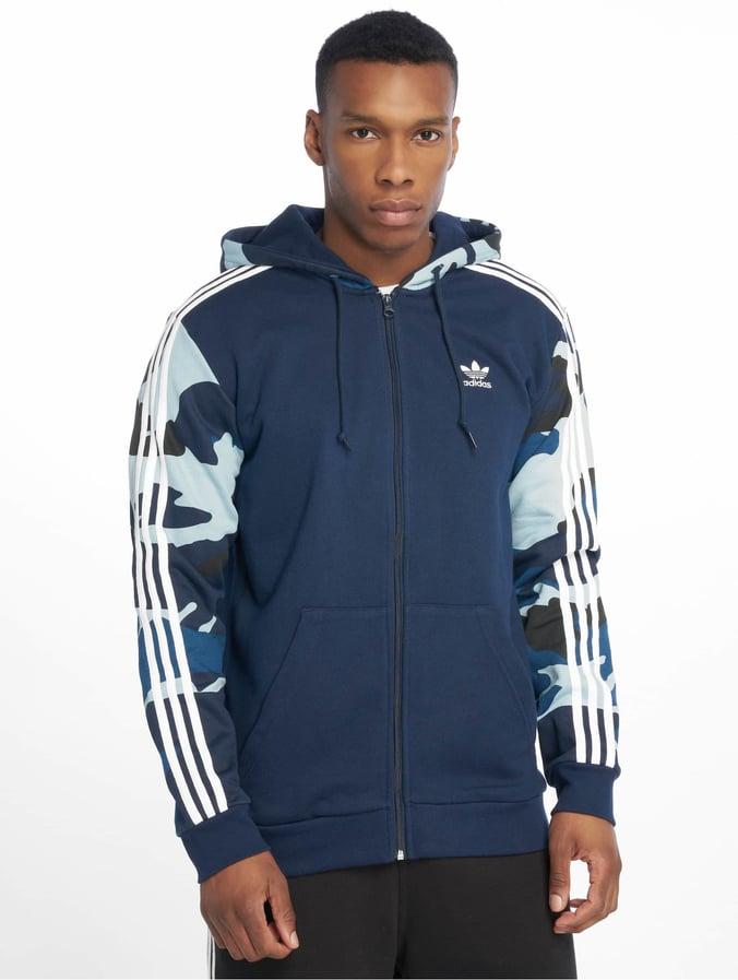 Adidas Sweatshirt Herren Jacke Dunkelblau