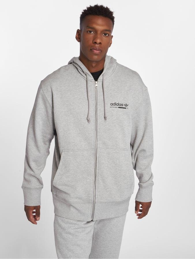 adidas Originals Kaval FZ Hoody | DH4946 | Vit | Kläder | Footish