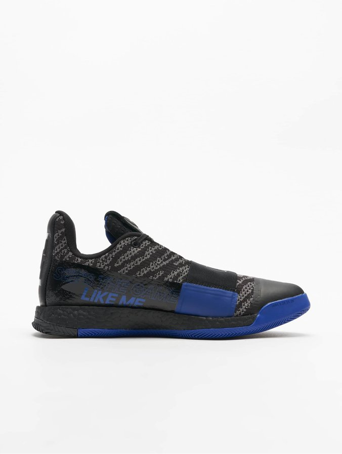 adidas Harden Vol. 3 Basketball Shoes Core BlackAct BlueDgsogr