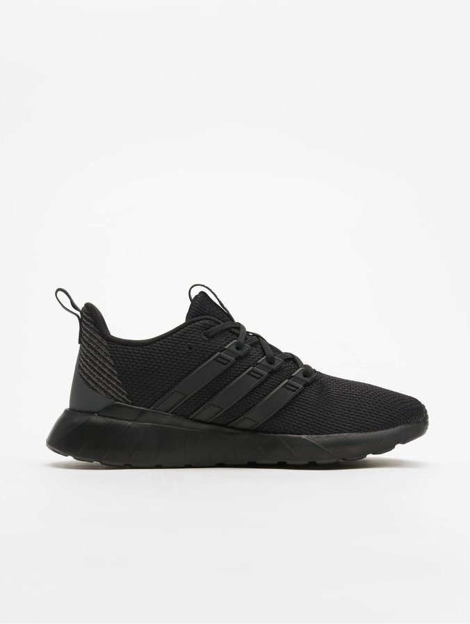 new style ever popular recognized brands adidas Questar Flow Sneakers Black/Black/Grey Six