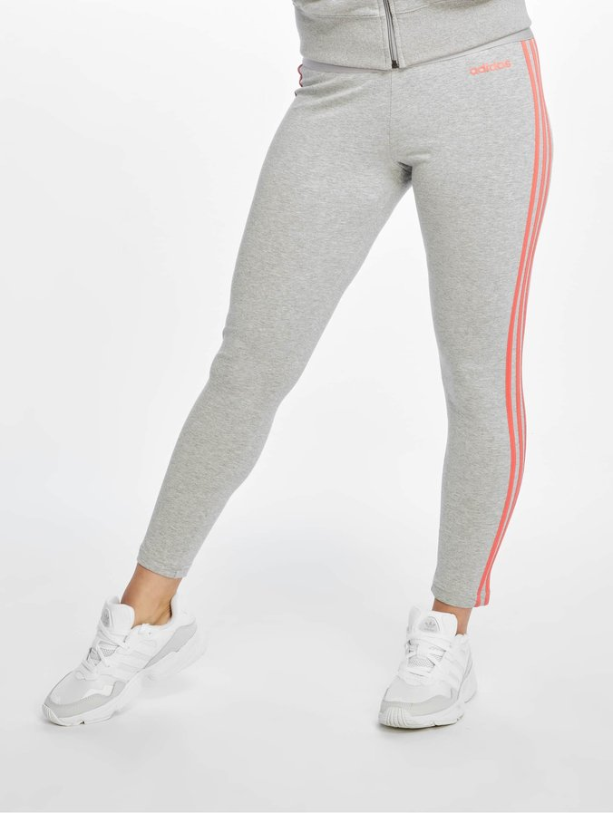 adidas gris Stripes Legging 3 PerformanceEssentials Femme b7g6fy