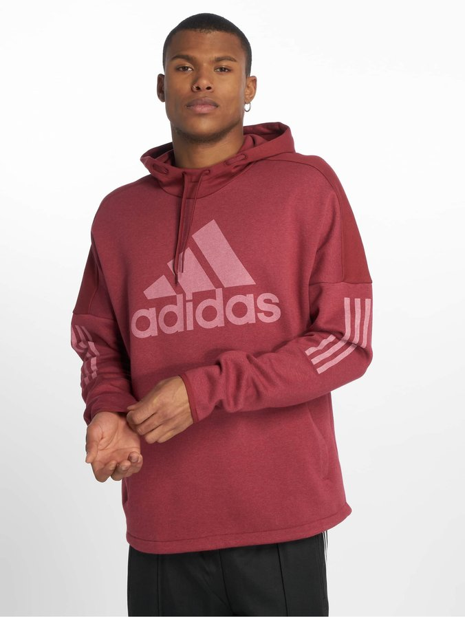 various colors low cost 100% top quality adidas Sid Logo Hoddy Noble Maroon Mel