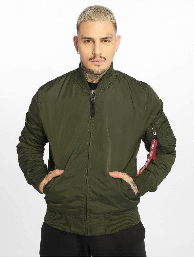 the latest bbf97 a3c95 Alpha Industries MA 1 Bomber Jacket Sage Green