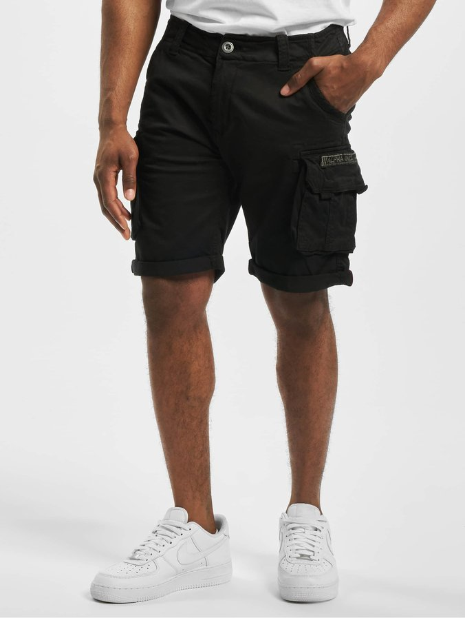Alpha Industries Crew Shorts Black