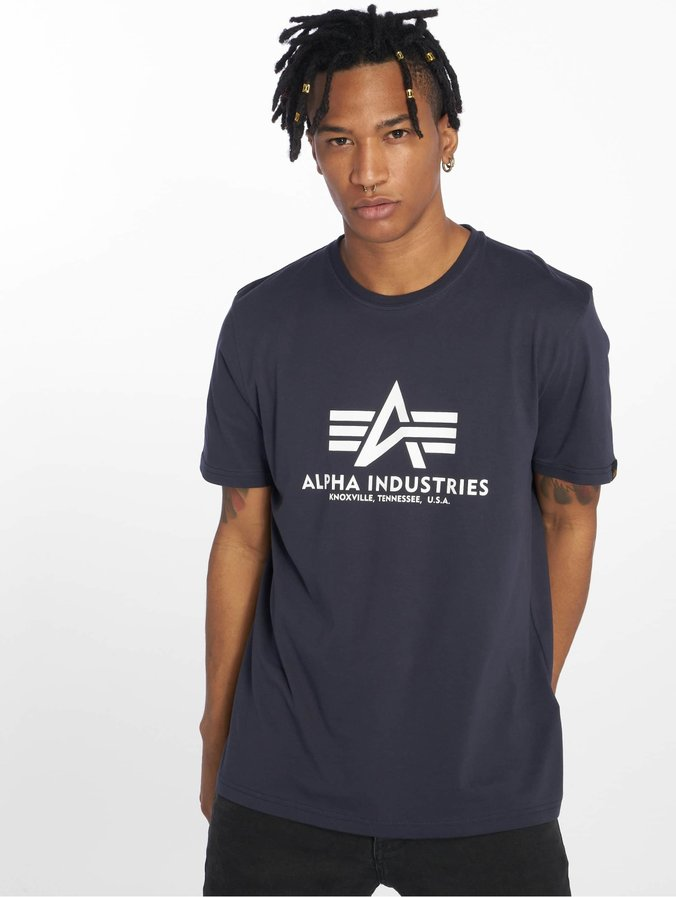 Alpha Industries Basic T Shirt Navy