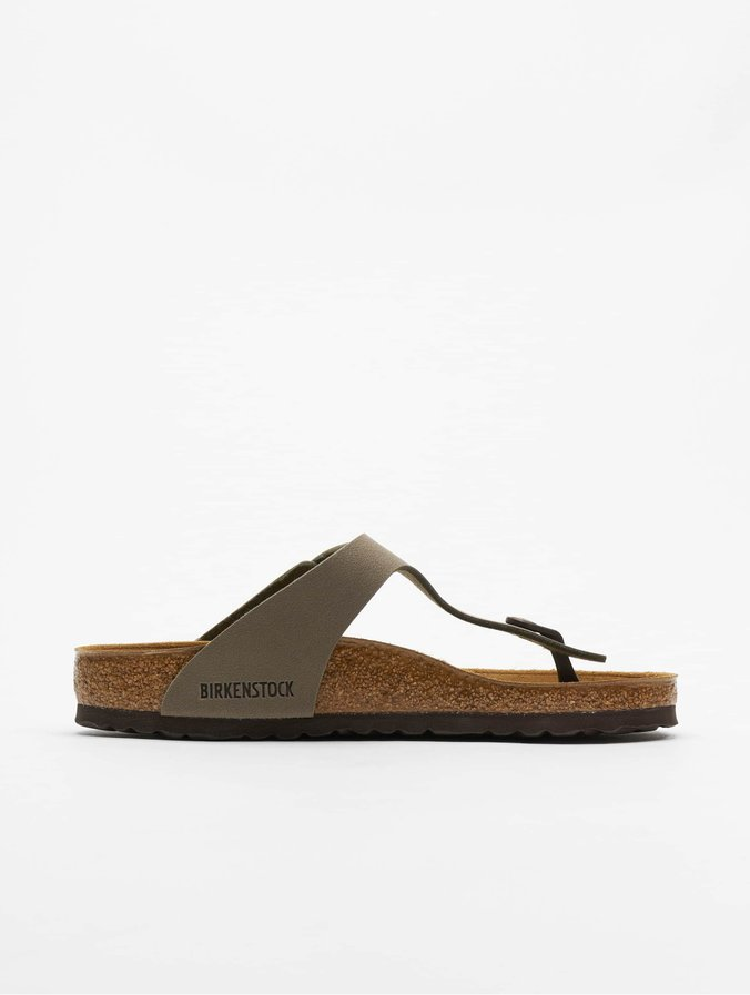 separation shoes 2fa2a 20b0a Birkenstock Gizeh BF Sandals Nubuk Stone