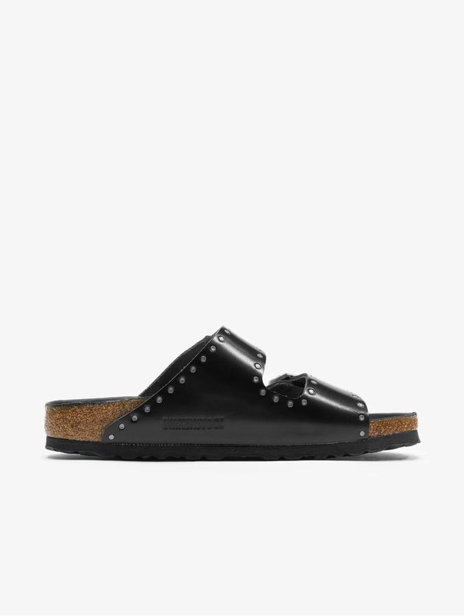 classic fit f1313 33ad9 Birkenstock Arizona NL Sandals Injected Rivets Black