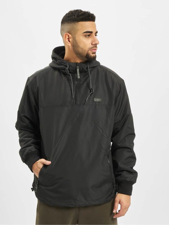 Brandit Luke Windbreaker Jacket Black
